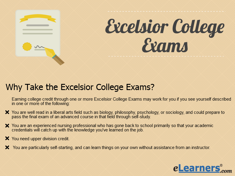 excelsior exams