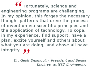 geoff desmoulin, forensic engineering
