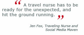 travel nursing quote