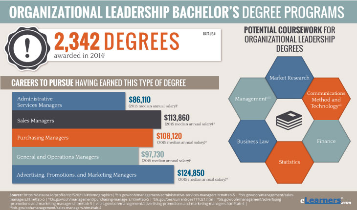 Bachelors in organizational leadership online
