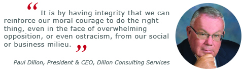 paul dillon, ethical leadership