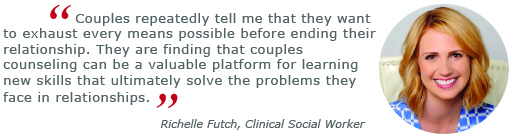 richelle futch, couples counseling