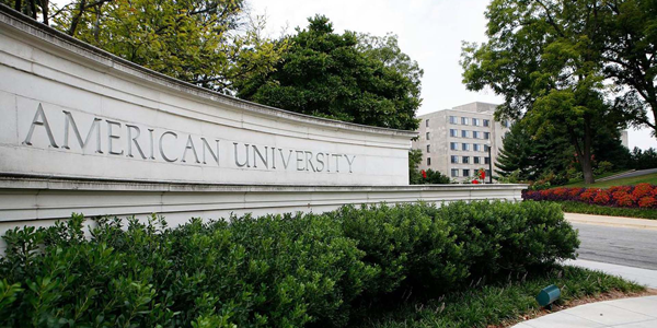 american university; colleges with sports management programs