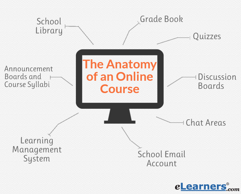 anatomy of online courses
