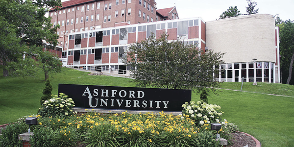 ashford university online; colleges with sports management programs
