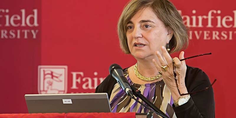 carol aslanian expert in higher education speaking at fairfield university
