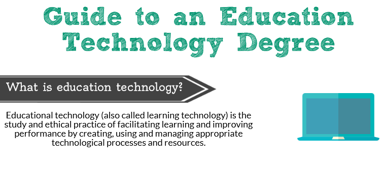education technology degree guide