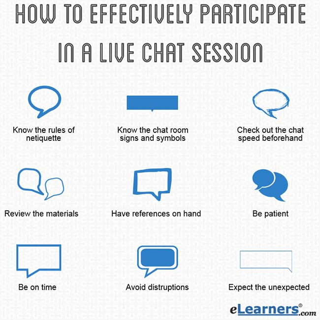 10 Ways To Effectively Participate In A Live Chat Session