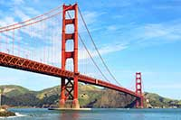golden gate bridge san francisco califronia