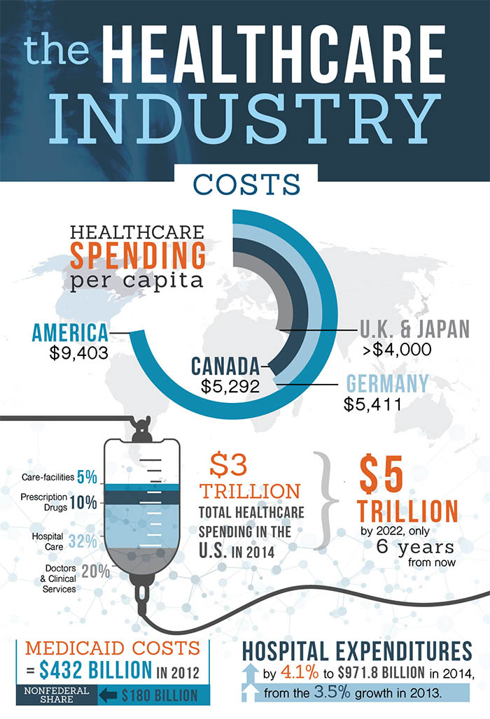 Healthcare industry in the us