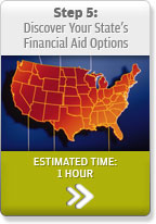 Step 5: Discover Your State's Financial Aid Options