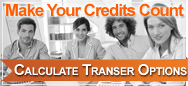 Make your credits count - calculate how your credits may transfer to another school