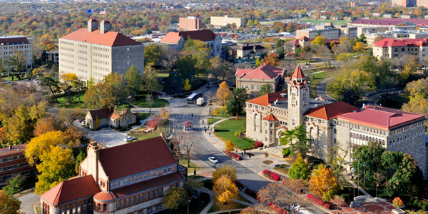 university of kansas online; colleges with sports management programs